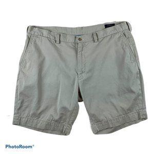"Polo Ralph Lauren Khaki Flat Shorts mens 40 9"" Leg"